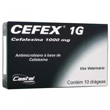 ANTIBIÓTICO CEFEX  1G 1000 MG 10 COMPRIMIDOS