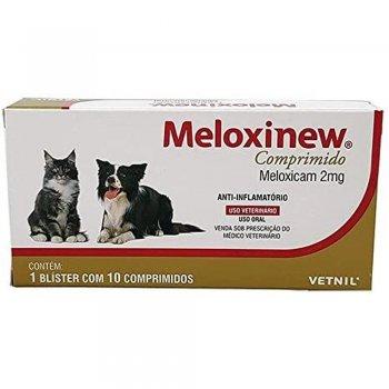 ANTIBIÓTICO MELOXINEW 2 MG 10 COMPRIMIDOS