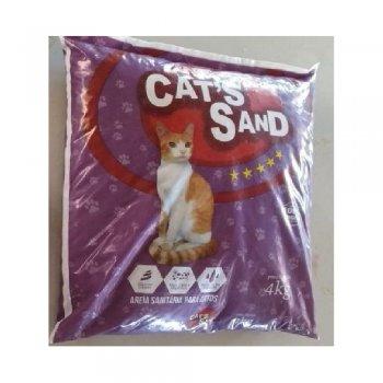 AREIA PARA GATOS CAT'S SAND 4 KG