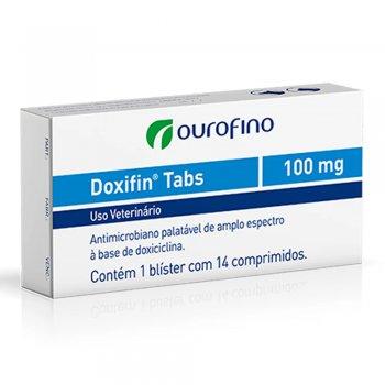DOXIFIN COMPRIMIDOS 100 MG CX 14 COMPRIMIDOS