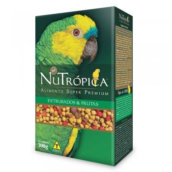 NUTRÓPICA PAPAGAIOS COM FRUTAS EMBALAGEM 300 GR