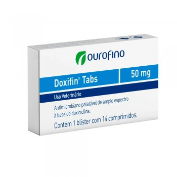 DOXIFIN COMPRIMIDO 50 MG CX 14 COMPRIMIDOS