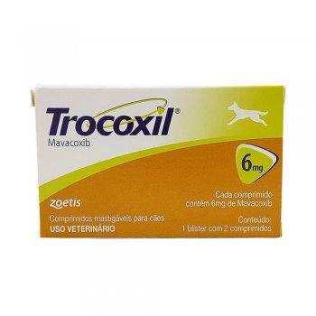 TROCOXIL 6 MG - CAIXA COM 2 COMPRIMIDOS