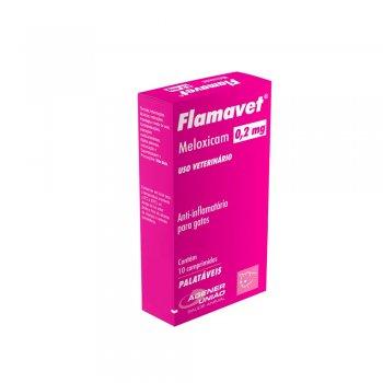ANTI-INFLAMATÓRIO FLAMAVET 0,2 MG 10 COMPRIMIDOS