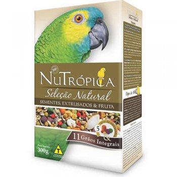 NUTRÓPICA PAPAGAIOS SELELEÇÃO NATURAL EMBALAGEM COM 900 GR