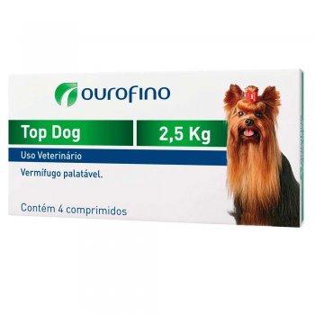 TOP DOG 2,5 KG  CX COM 4 COMPRIMIDO