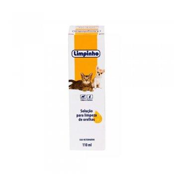 LOÇÃO LIMPADORA DE ORELHAS LIMPINHO 110 ML