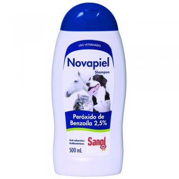 SANOL DOG SHAMPOO NOVAPIEL 500 ML