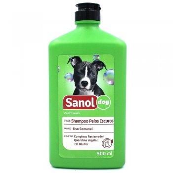SANOL DOG SHAMPOO PELOS ESCUROS 500 ML