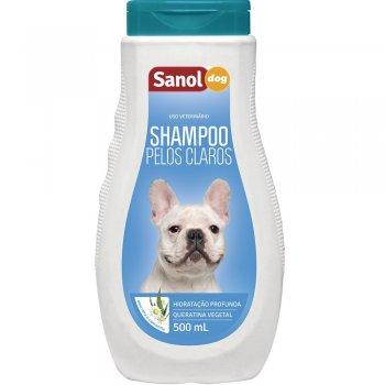 SANOL DOG SHAMPOO PELOS CLAROS 500 ML