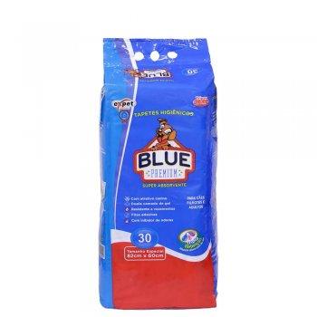 TAPETE BLUE PREMIUM 30 UNIDADES  82X60 CM