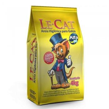 AREIA PARA GATOS LE CAT 4 KG